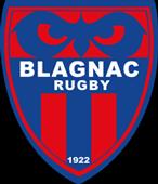 dans le cadre du mécénat logo de l'équipe de rugby à 15 de blagnac