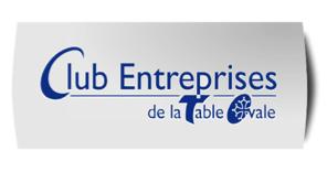 logo du club entreprises de la table ovale