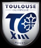 dans le cadre du mécénat logo de l'équipe masculine de rugby à 13 toulouse olympique
