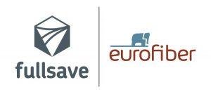 logos eurofiber et fullsave ensemble