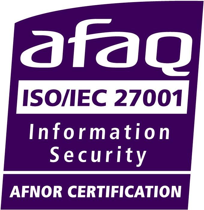 logo certification norme ISO 27001