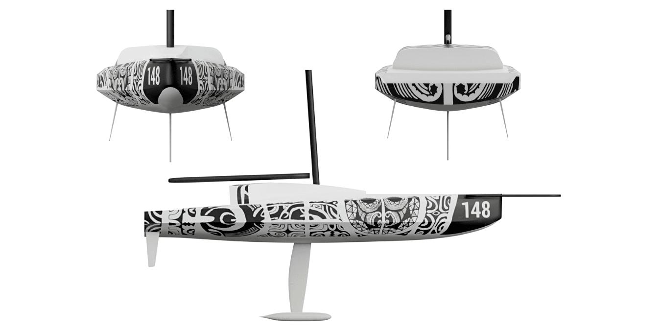 maquette du bateau 148 de FullSave